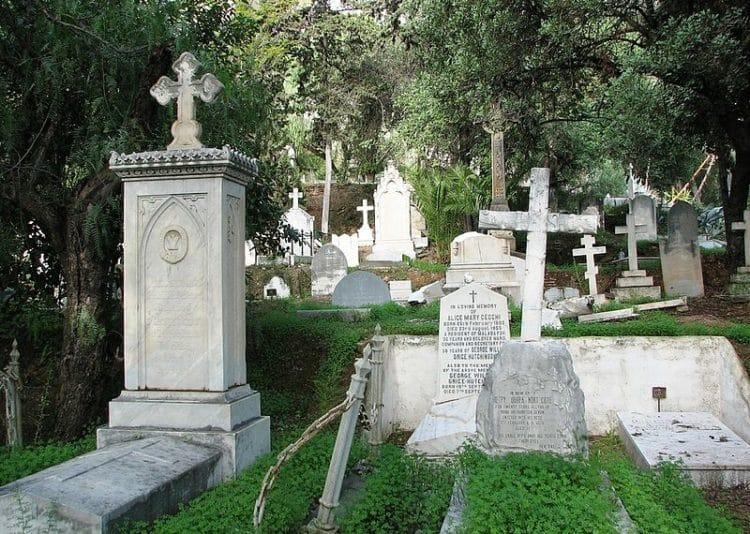 Английское кладбище - достопримечательности Малаги