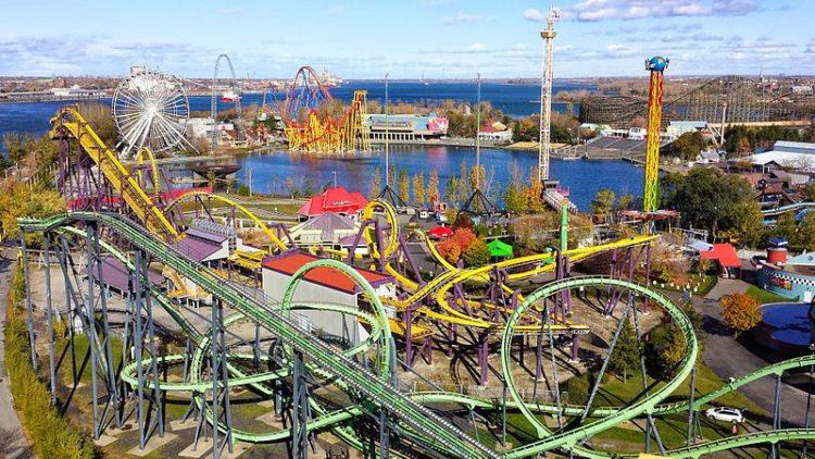 Парк развлечений Ла-Ронд - достопримечательности Монреаля