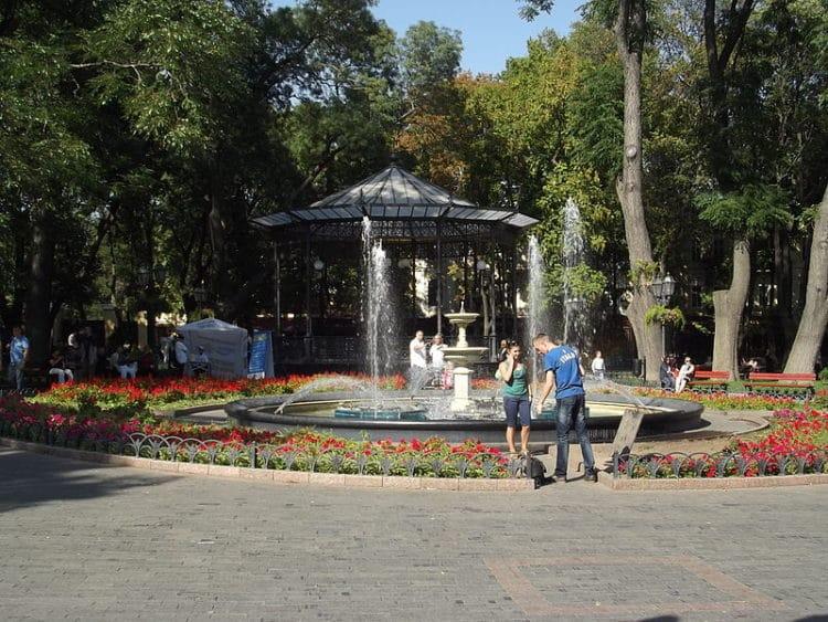Городской парк - достопримечательности Одессы