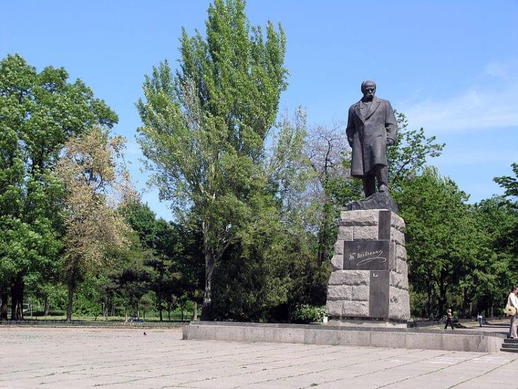 Парк Шевченко - достопримечательности Одессы