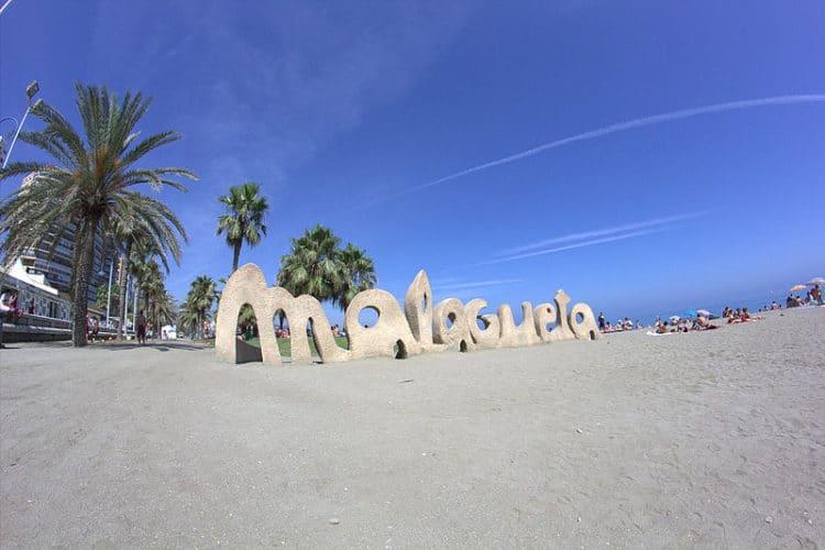 Пляж Ла-Малагета - достопримечательности Малаги
