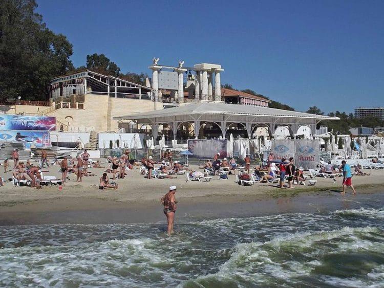 Курортная зона Аркадия - достопримечательности Одессы