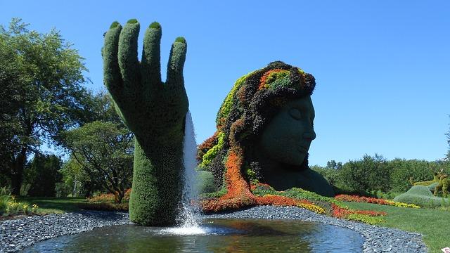 Ботанический сад - достопримечательности Монреаля
