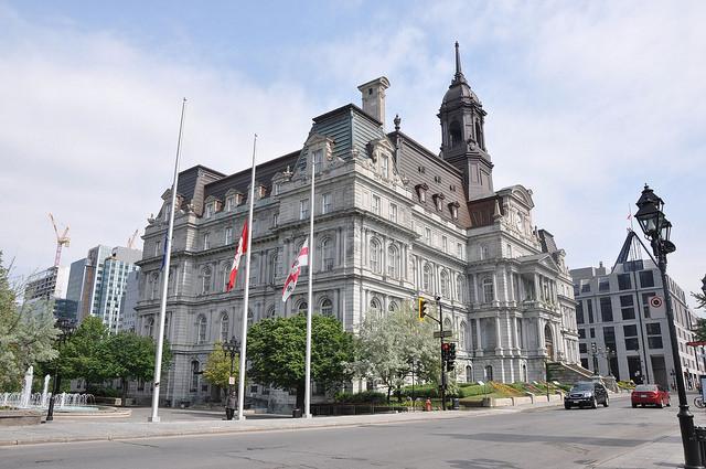 Монреальская ратуша - достопримечательности Монреаля