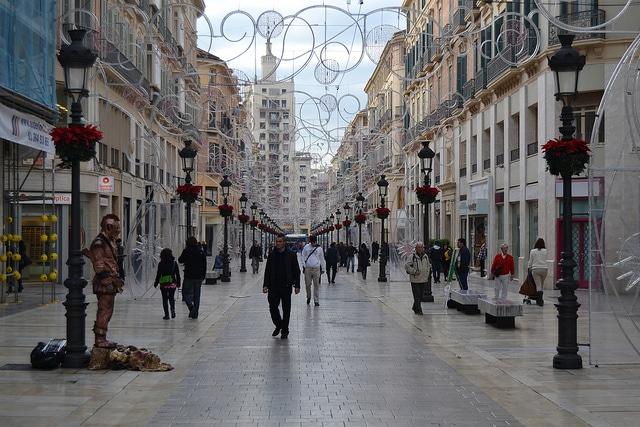 Улица Маркес де Лариос - достопримечательности Малаги