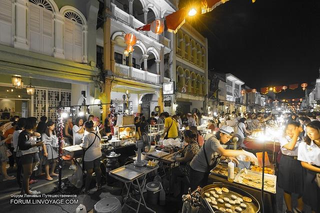 Ночной рынок в Пхукет-таун - достопримечательности Пхукета