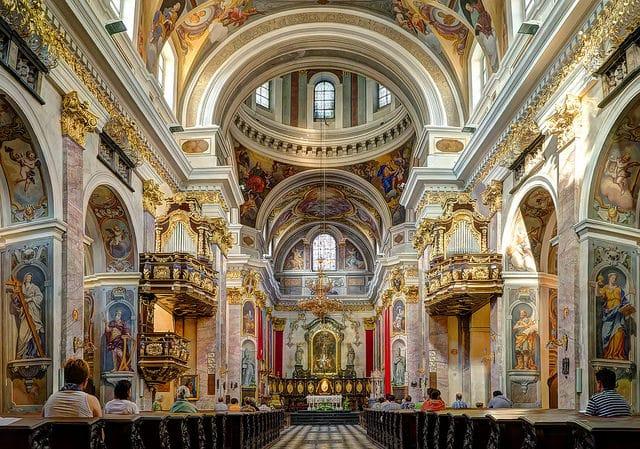 Собор Святого Николая - достопримечательности Любляны