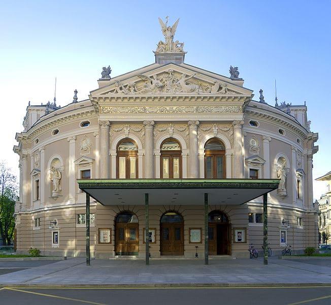 Словенский театр оперы и балета - достопримечательности Любляны