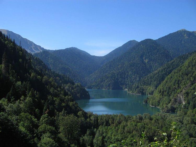 Озеро Рица - достопримечательности Пицунды