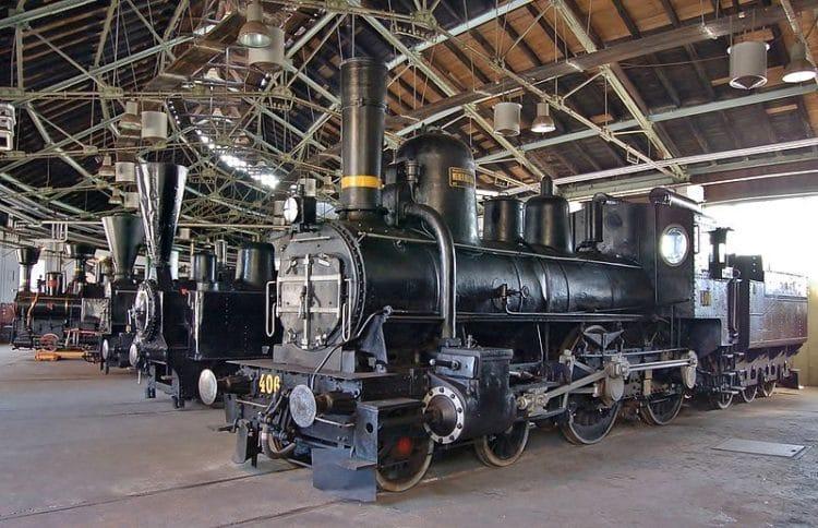 Железнодорожный музей Словении - достопримечательности Любляны