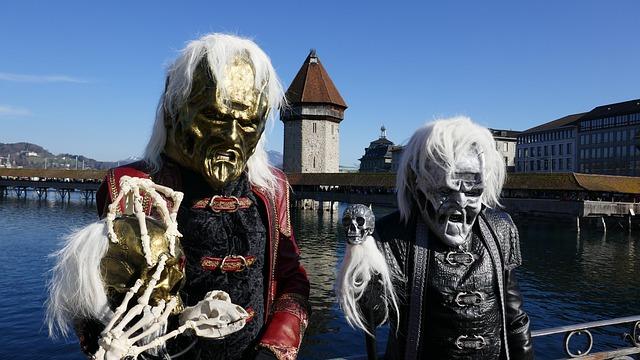 Карнавал Фаснахт - достопримечательности Люцерна