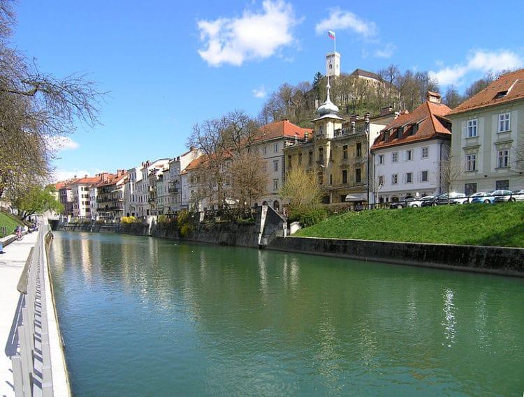 Река Любляница - достопримечательности Любляны