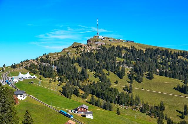 Гора Риги - достопримечательности Люцерна