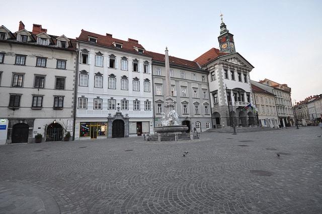 Ратуша Любляны - достопримечательности Любляны