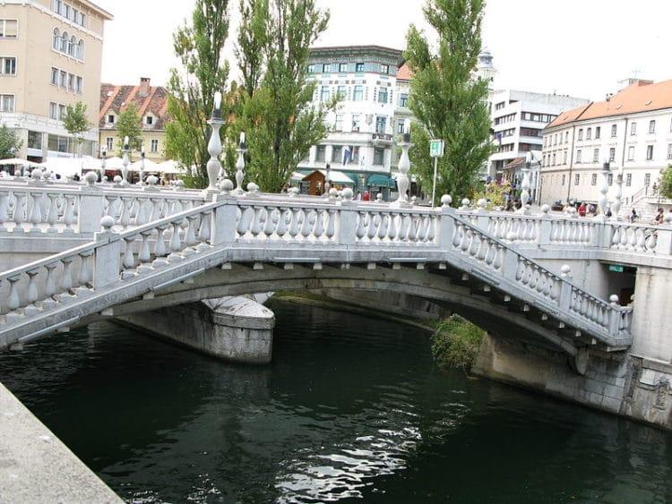 Тройной мост - достопримечательности Любляны
