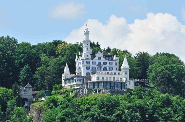 Отель «Шато Гуч» - достопримечательности Люцерна