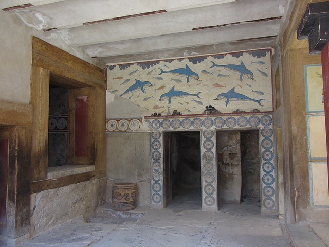 Кносский дворец в Греции