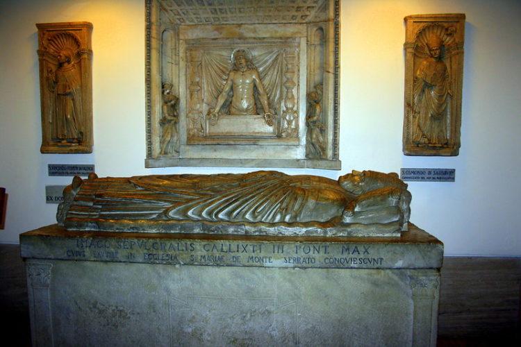 Священные гроты в Ватикане