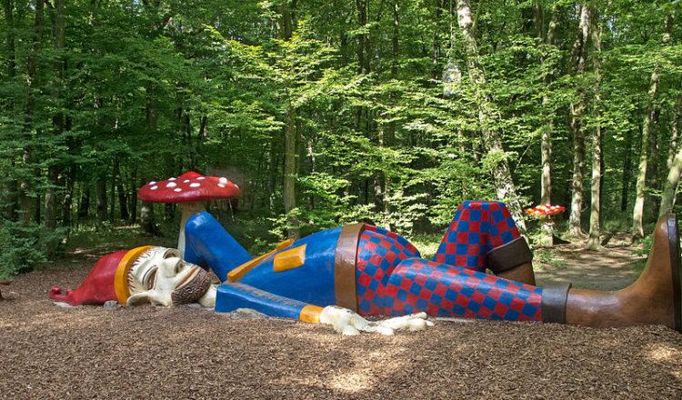 Парк Мервейе - достопримечательности Люксембурга